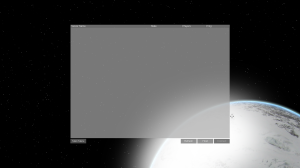 Multiplayer menu with ice planet
